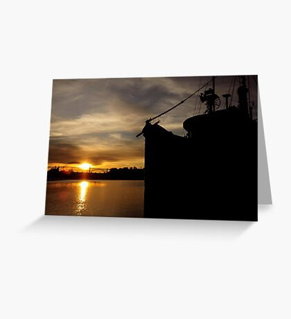 GHOST SHIP~ Greeting Card