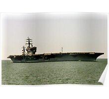 USS Dwight D Eisenhower CVN 69 Poster