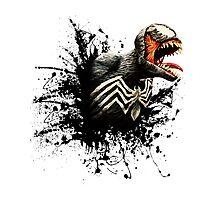 Spider Symbiote Photographic Print