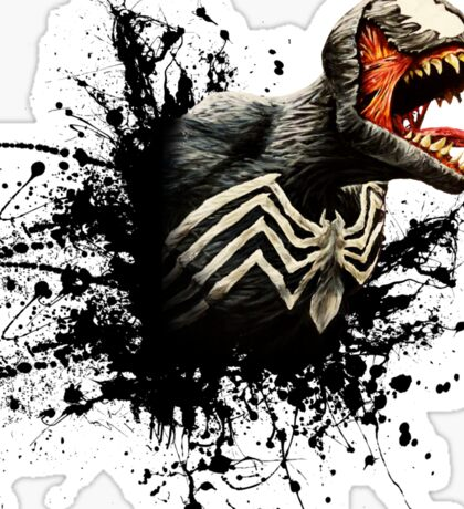 Spider Symbiote Sticker