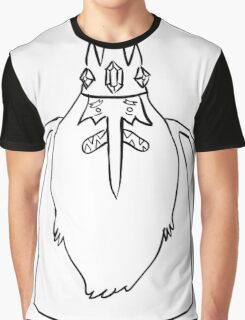 Ice King Line Sketch Graphic T-Shirt