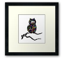 Patch The Owl Framed Print
