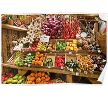 Vegetable Display Poster