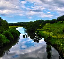 Alnwick Castle pastures by Mark Jarvis