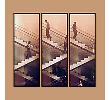 The Staircase (Beige) Photographic Print