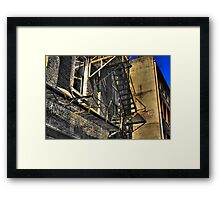 Safety Is Job One Framed Print