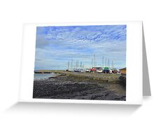 The Boats Of Groomsport............................N Ireland Greeting Card