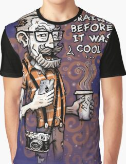 Zomb Hipster Graphic T-Shirt
