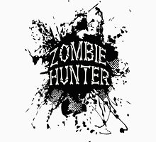 Zombie Hunter black grunge Unisex T-Shirt