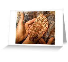 Feet that bring good news . . .  Greeting Card