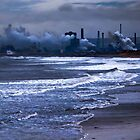 Cool Industry and sea by David Hall