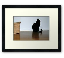 Guess Framed Print