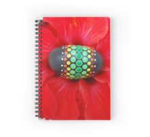 Mandala Designed easter eggs stone Spiral Notebook