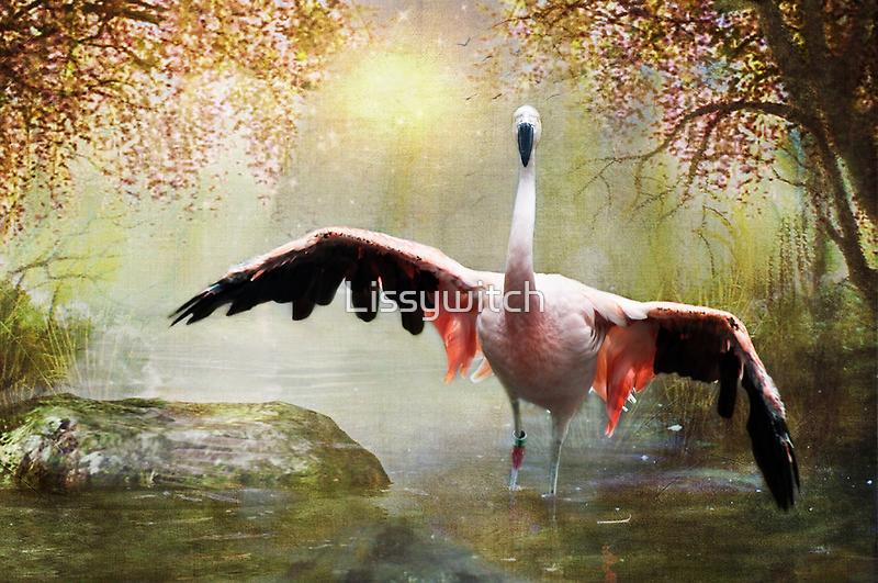 Pretty Flamingo by Lissywitch