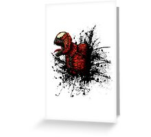 SON of Spider Symbiote Greeting Card