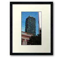 City - Buildings Within Buildings Framed Print