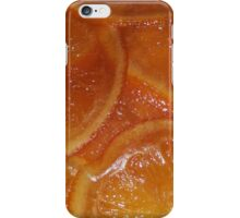orange treacle iPhone Case/Skin