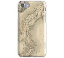 Vintage Map of Panama (1851)  iPhone Case/Skin