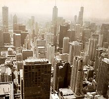 Overlooking Chicago by ArchetypePhoto