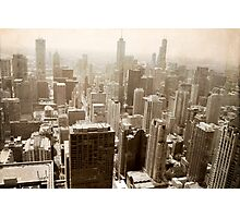 Overlooking Chicago Photographic Print