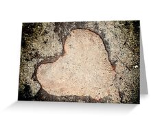 Love in nature Greeting Card