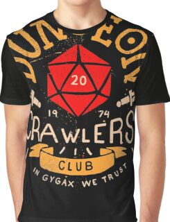 Dungeon Crawlers Club Graphic T-Shirt