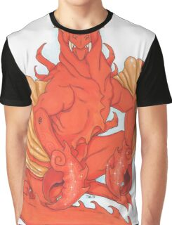 Cancer Dragon Graphic T-Shirt