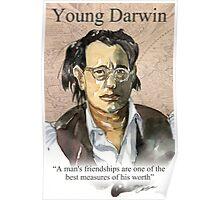 Young Darwin Poster
