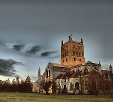 Tewkesbury Abbey by yampy