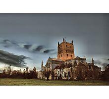 Tewkesbury Abbey Photographic Print