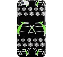 Dinosaur Pterodactyl Ugly Christmas Sweater iPhone Case/Skin