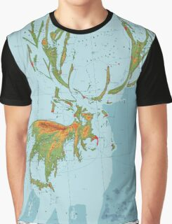 Cervidae - Land of the Deer Graphic T-Shirt