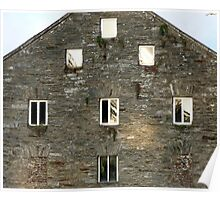 Irish Barn Windows  Poster