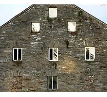Irish Barn Windows  Photographic Print