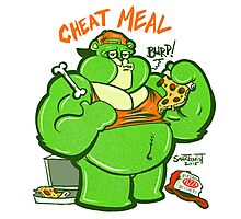 CHEAT MEAL Photographic Print