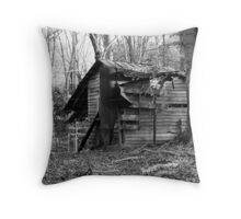 No One Will Ever Live Here Again. Throw Pillow
