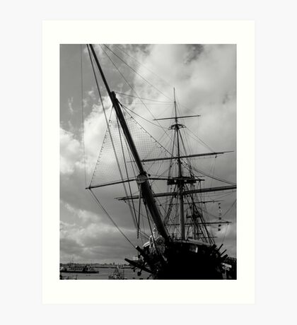 HMS Warrior Portsmouth UK Art Print
