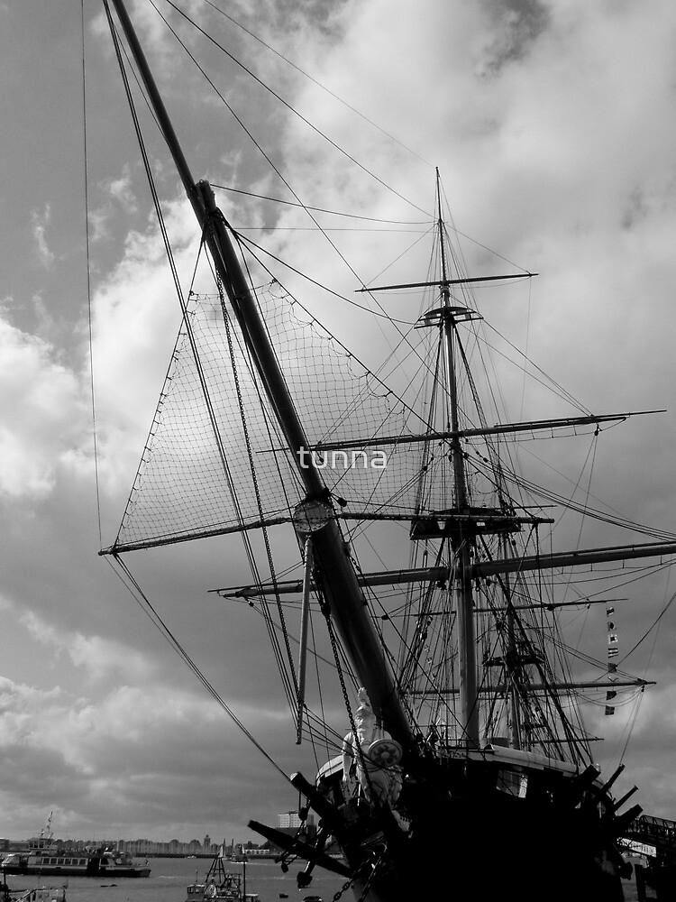 HMS Warrior Portsmouth UK by tunna