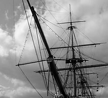 HMS Warrior Portsmouth UK by tunna