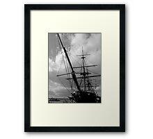 HMS Warrior Portsmouth UK Framed Print