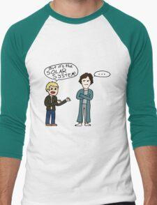 But it's the Solar System, Sherlock Men's Baseball ¾ T-Shirt