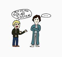 But it's the Solar System, Sherlock Unisex T-Shirt