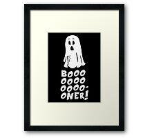 Boner Ghost Framed Print
