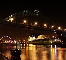 Every major landmark in Newcastle by Sojourner92