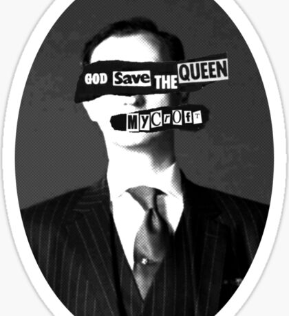 God Save The Queen, Mycroft #2 Sticker