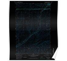 USGS Topo Map Washington State WA Ritzville SW 243469 1967 24000 Inverted Poster
