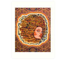 Music Goddess Art Print