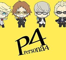 P4 guys by airesama
