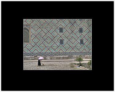 Working in the heat (Samarkand)