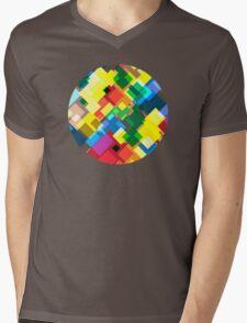 Maps Mens V-Neck T-Shirt